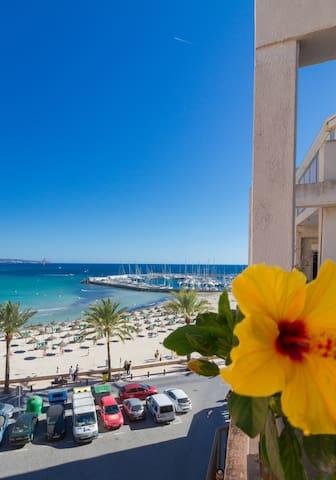 habitacion con vistas al mar - Can Pastilla - Apartemen