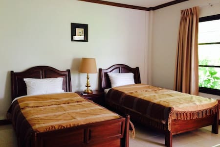 The cottage nakhonsawan. Twin room - Nakhonsawan