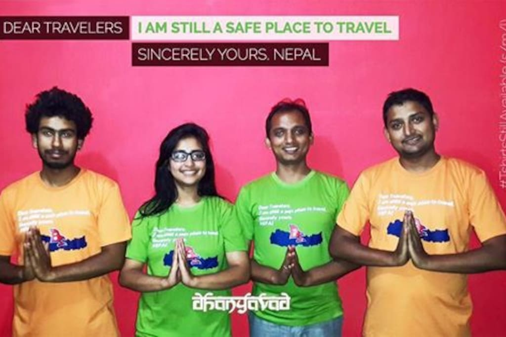 Do visit Nepal and support our economy and victims