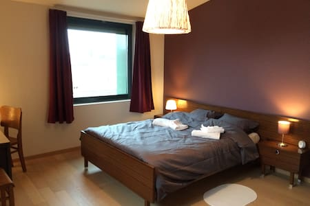 Spacious room in luminous penthouse - Antwerpen - Lägenhet