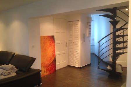 Chambre dans appartement type Loft très lumineux - Issy-les-Moulineaux