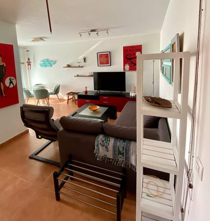 Coqueto apartamento para 4 personas en Tarifa