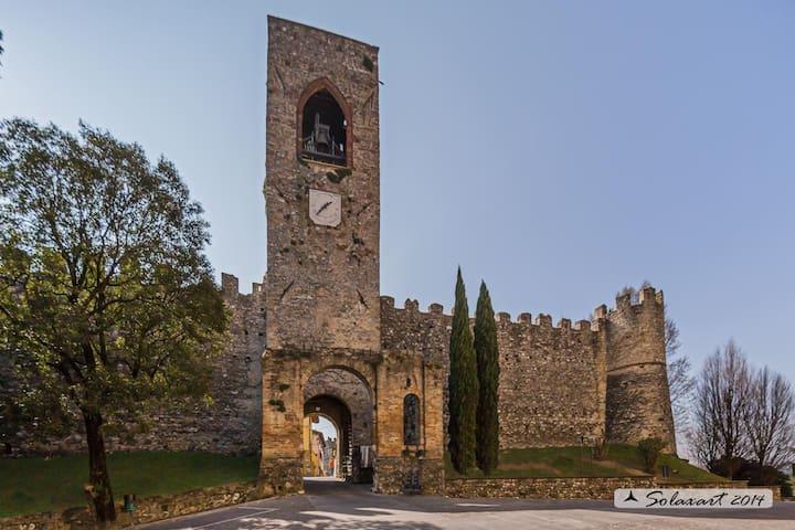 Affascinante appto in castello!! - Moniga del Garda
