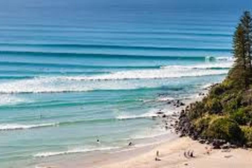 Greenmount Beach is 2km