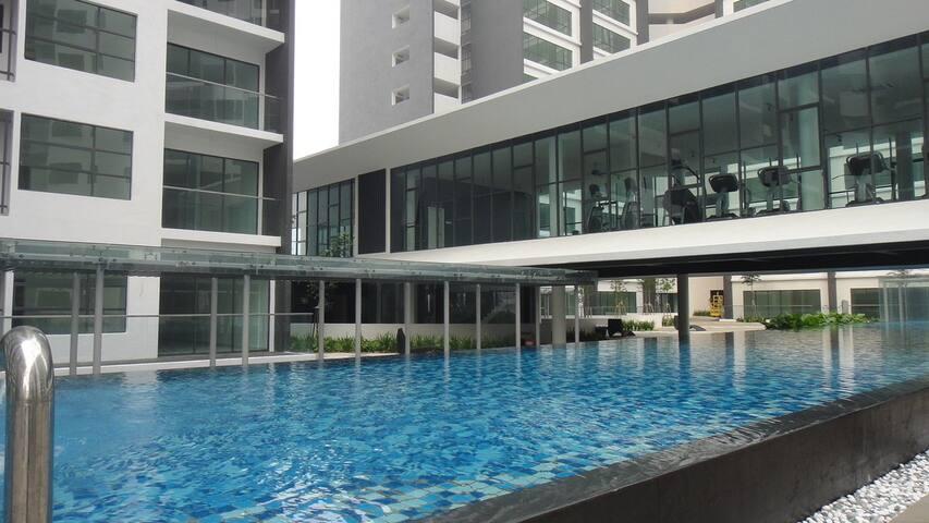 Full Furnished Studio at Zeva Residence For Rent - Seri Kembangan