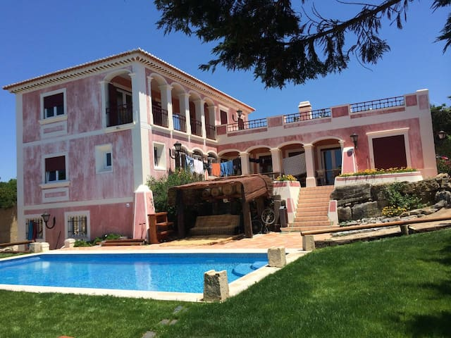 Villa with Pool, Sea/Mountain View, Sintra, Lisbon - Sintra - House