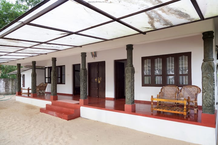 Beach view home stay with delicious homely food