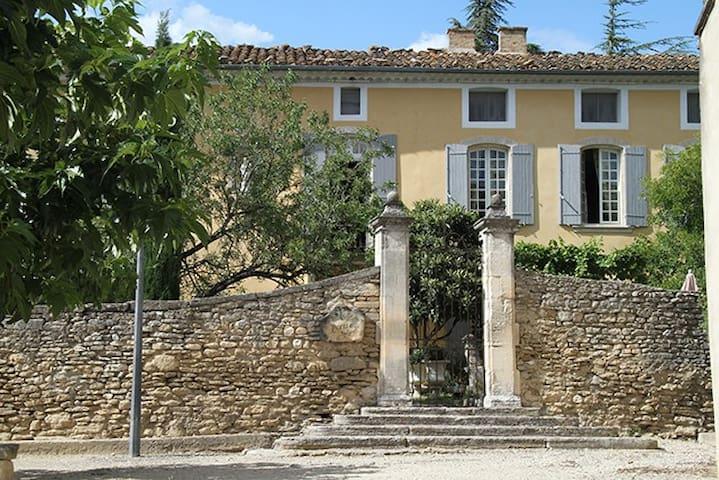 Unique 18C Priory in Luberon National Park - Cabrières-d'Avignon