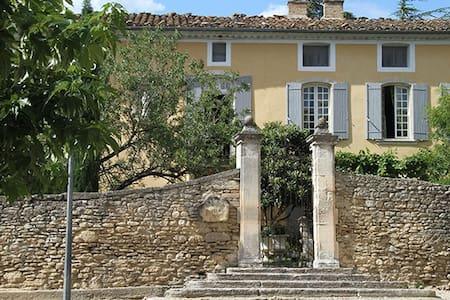 Unique 18C Priory in Luberon National Park - Cabrières-d'Avignon - Istana