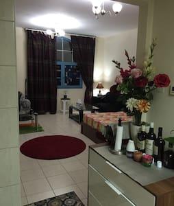 Clean studio apartment in Dubai,IC
