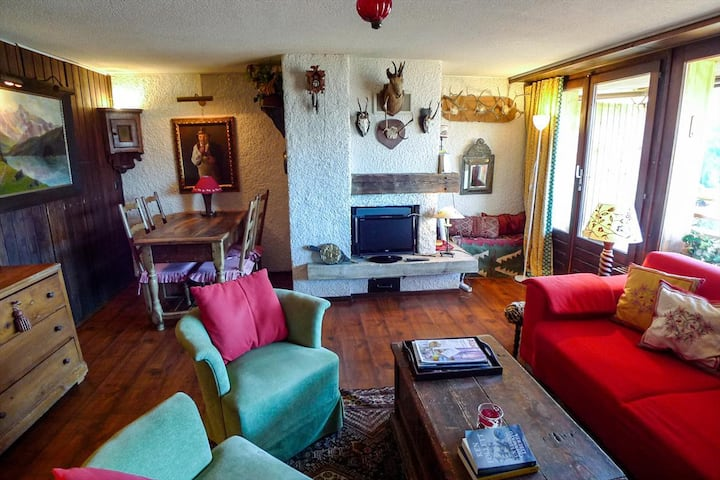 Séracs 34; Nice 2 piece apartment, in the center of Verbier.