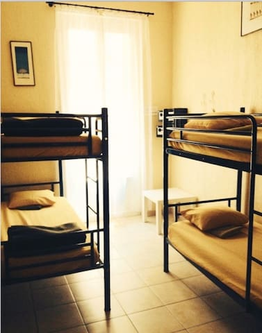 Dorm Beds -  near the train station