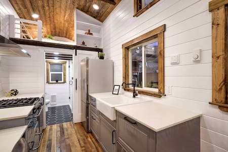 Gorgeous Custom Tiny Home on Riverfront Farm