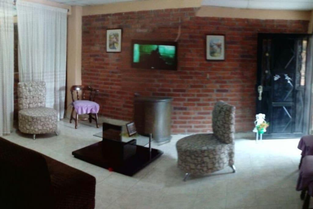 Sala de la casa en segundo piso