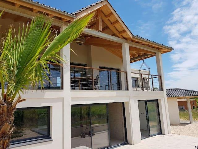 Villa Luxe piscine/SPA chauffée vue exceptionnelle