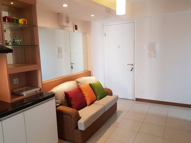 Homely 2BR Bassura Apt. (Direct Access to Mall)