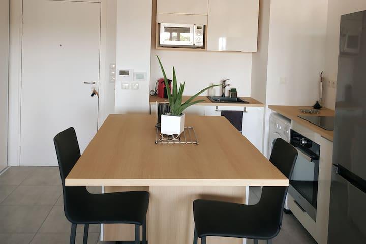Appartement neuf (juin 2020) proche plage Labenne