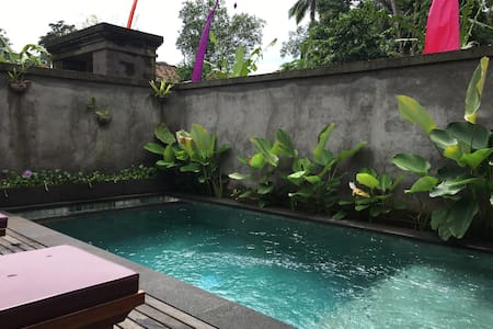 2 BR, 2 BA, PRIVATE Pool Candra Loka Villa - 巴厘岛 - 别墅