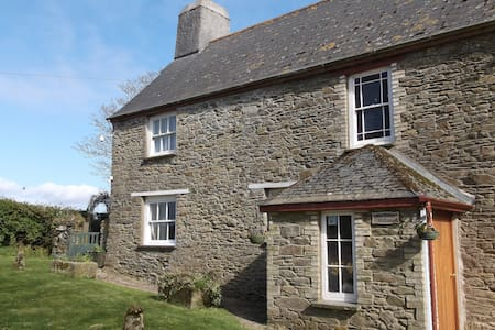 Cosy cottage for 2 on Cornish farm - Cornwall - Huis