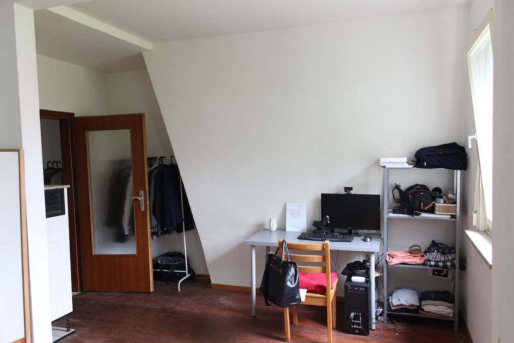 Perfekte unterkunft f r kirchentag apartments for rent for Leeres zimmer