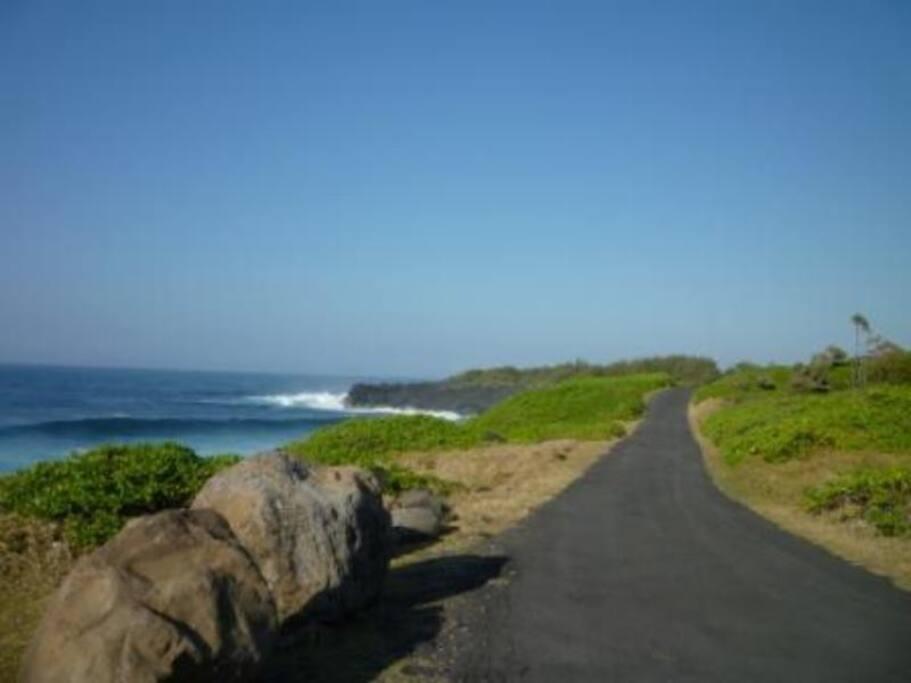 Chemin littoral