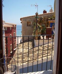 Liebenswerte Wohnung mit Meerblick - Apartamento