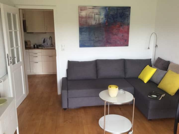 Moderne ruhige strandnahe Wohnung