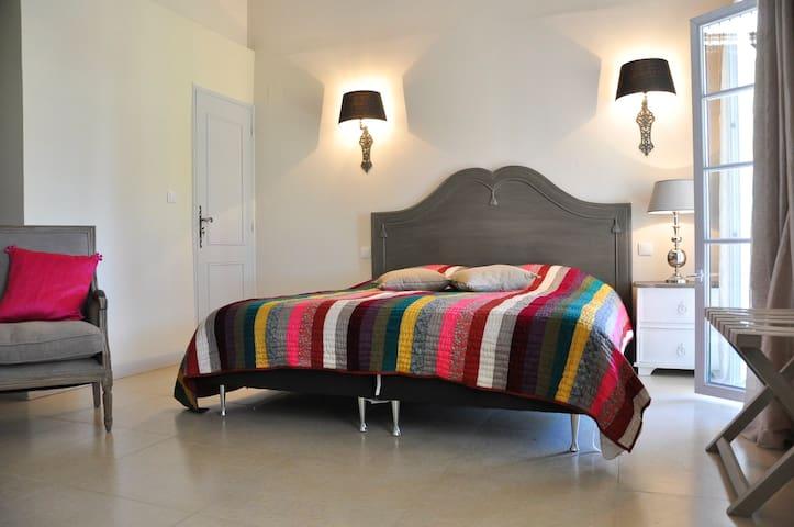 Chambre Rosalie Un Lit 180X200 2 petits lits 90X190