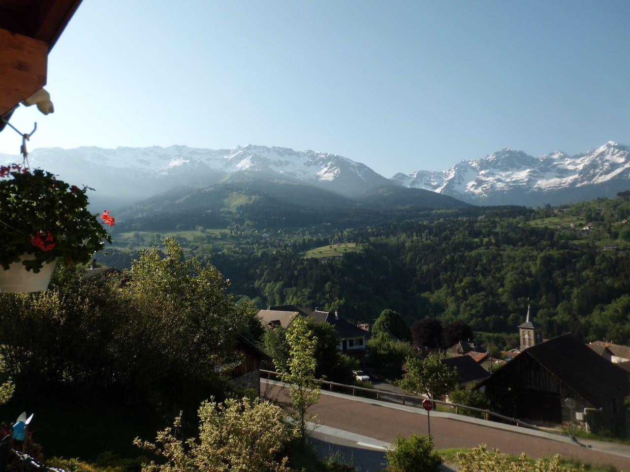 View from the veranda.