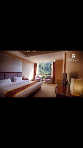豪华山景大床房 - Chengdu - Serviced apartment