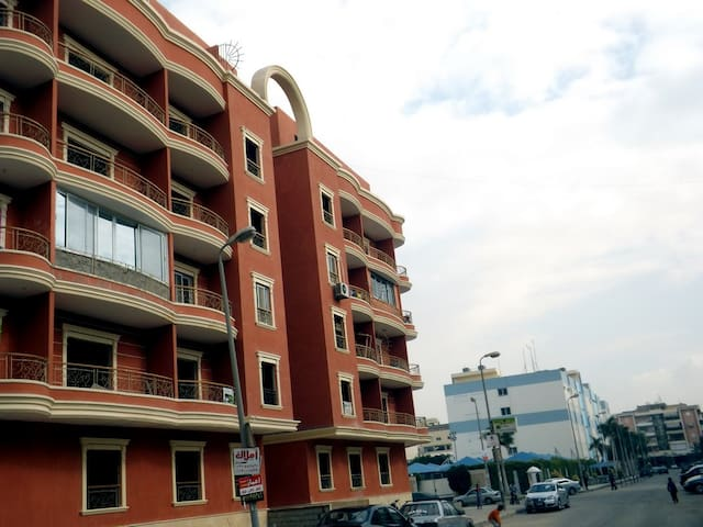 A very clean, big & Cozy apartment in Zahraa Maadi - Cairo Governorate - Appartement