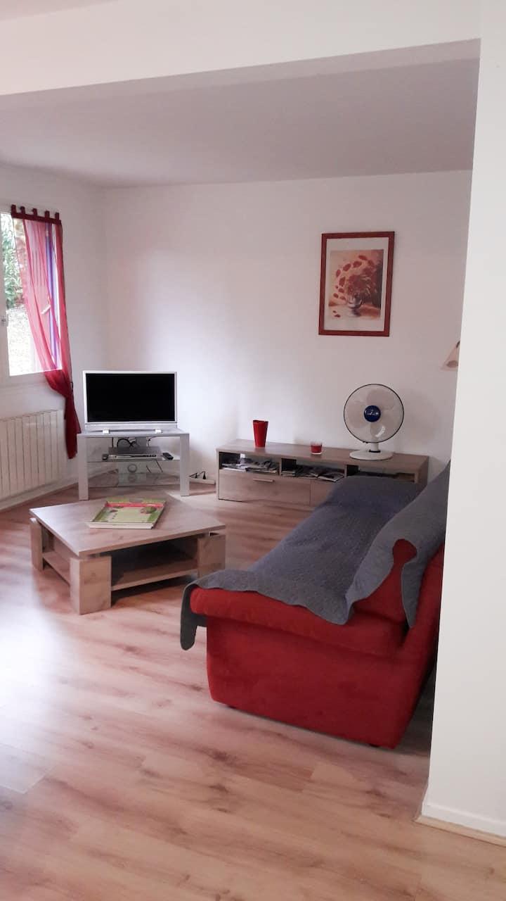 Appt meublés F3 situé à Royat(proche Clermont-fd)