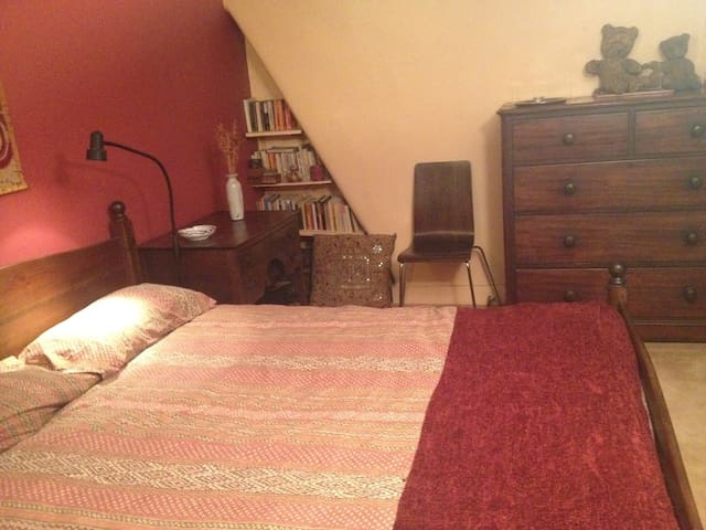 Cosy double room in well-located N. London house