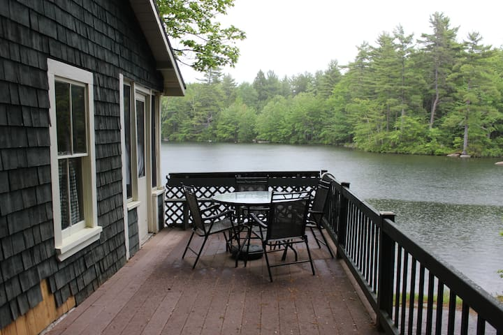 Maine Lakefront Camp Near Portland - Windham - House