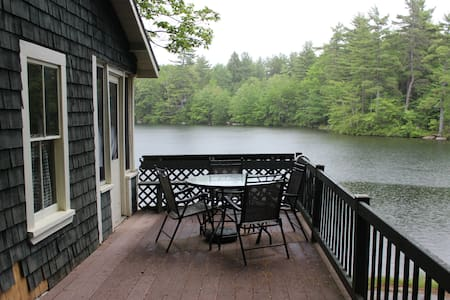 Maine Lakefront Camp Near Portland - Windham - Casa
