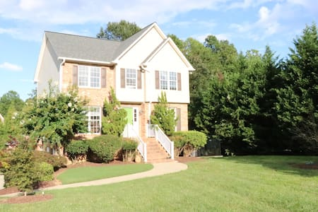 Quiet Suite in Classic Brick Home with Lush Yard
