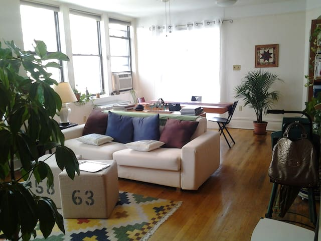 a view of living room  from entrance
