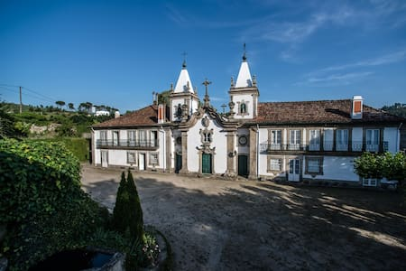 Outeiro Tuías-Manor House (Double room 2) - Marco de Canaveses - Bed & Breakfast