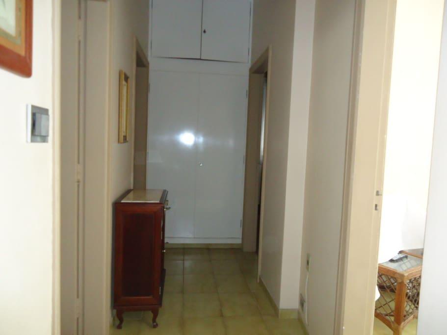 Hall circulaçao -Dormitorios