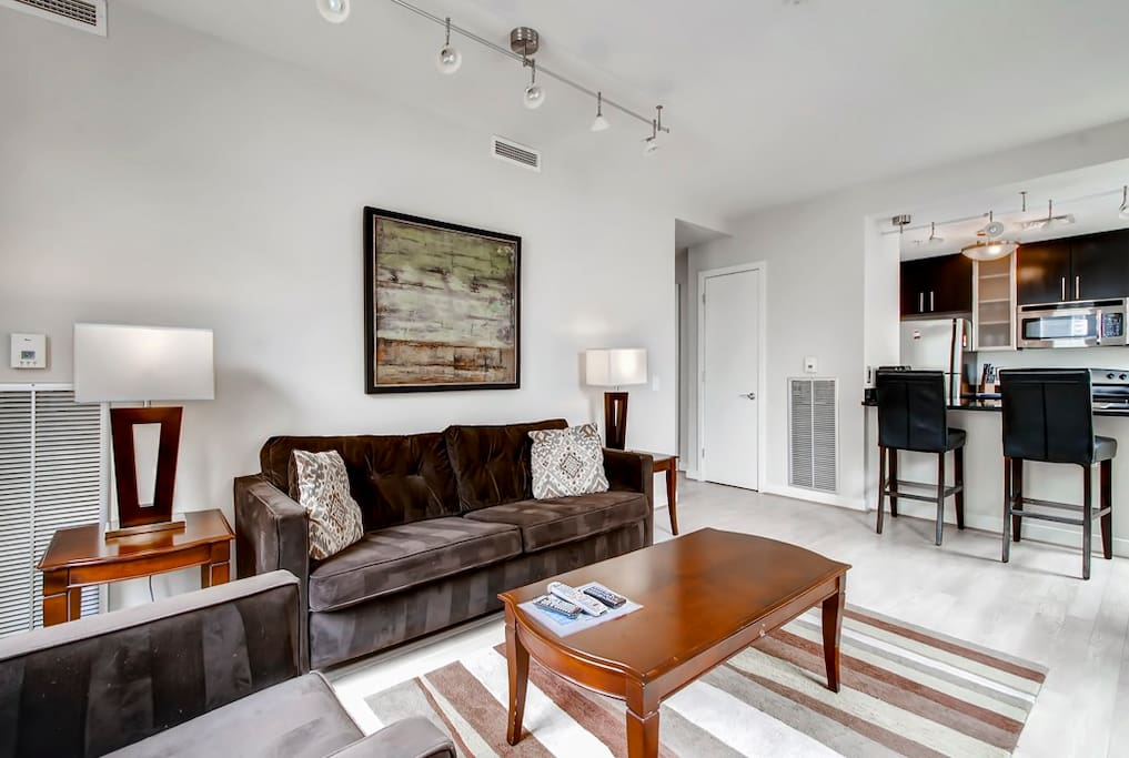 Luxury furnished 2 bedroom dc apartment apartments for 1 bedroom apartments in washington dc