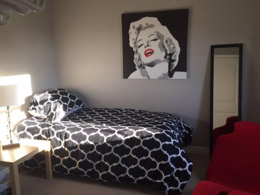 Bright private room