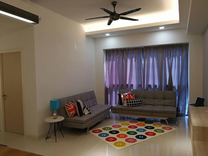 HomeSweetHome 1-7pax 3 Bedroom IconCity, Sunway