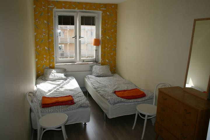Double Room in Central Stockholm - Stokholm - Daire