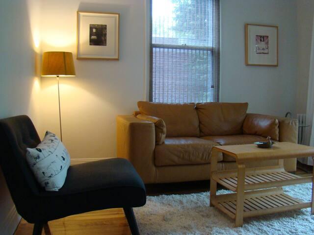 63m carrés, Parc Molson - Montreal - Apartamento
