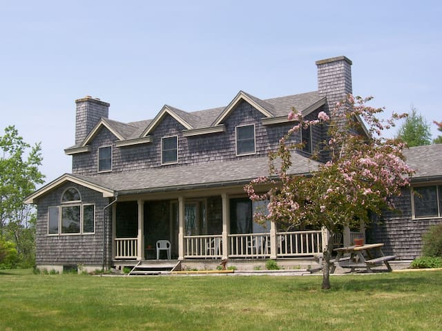 Oceanfront Home With Infinity View - Gouldsboro - Talo