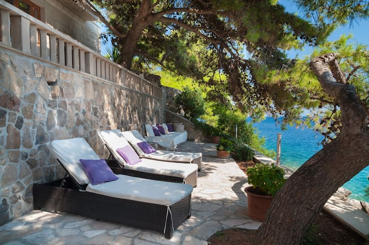 Huge Luxury Waterfront Stone Villa