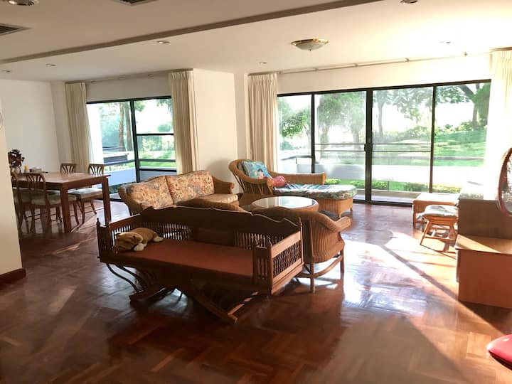 Condo on 7th hole at Laem Chabang  Golf Club