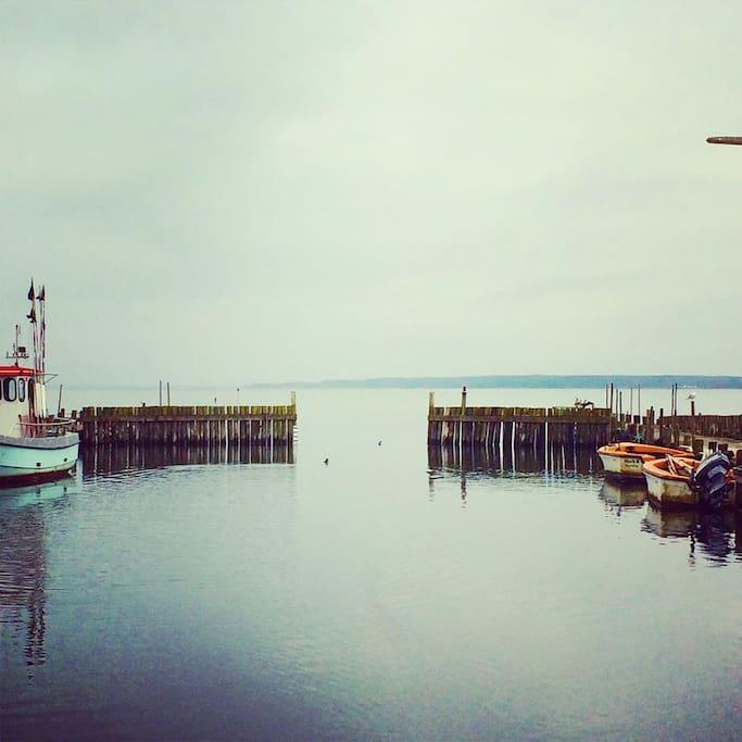 2 havne indenfor 2 kilometers afstand