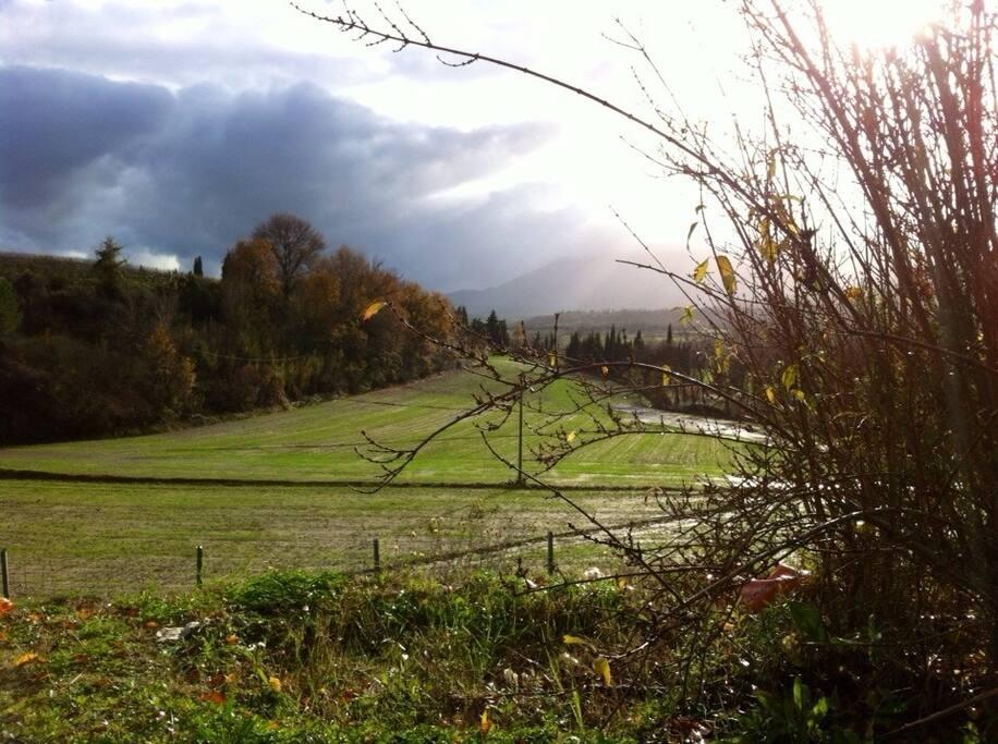 Il monte Cetona in autunno.