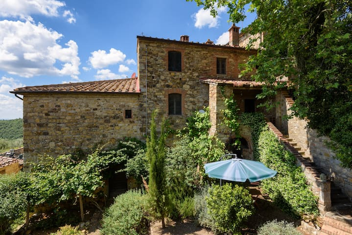 POOL IN THE GREEN APARTMENT - Castellina In Chianti - Departamento